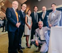 Business lunch discussion with Dutch Prime Minister Mark Rutte (3rd from the right)
